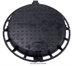 Picture of Clark Drain Class D400 Solid Top Hinged & Locking