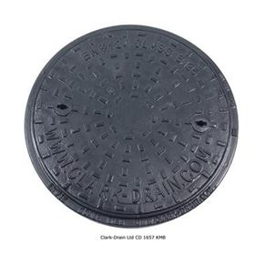 Picture of Clark Drain Class B125 Solid Top
