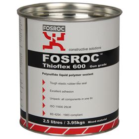 Picture of FOSROC THIOFLEX 600 GUN GRADE GREY 2.5lt